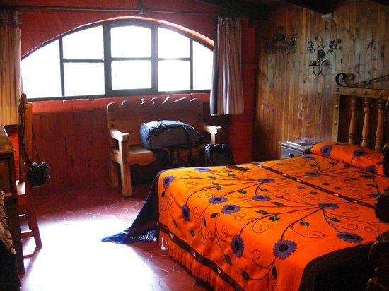 Hacienda Don Juan Hotel: Unser Zimmer