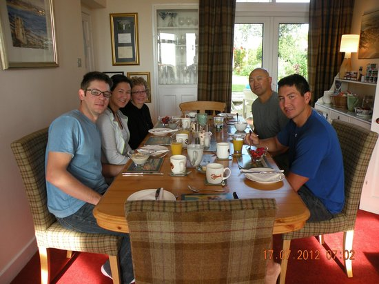 No12 Bed & Breakfast: Delicious morning breakfast that Pam prepared for us!