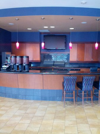 Residence Inn National Harbor Washington, DC Area: Casual coffee area