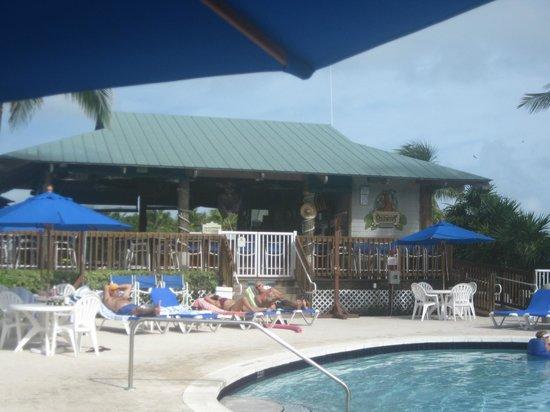 Barnacle Barney's Tiki Bar: Barnacle Barney's, poolside at The Hammocks