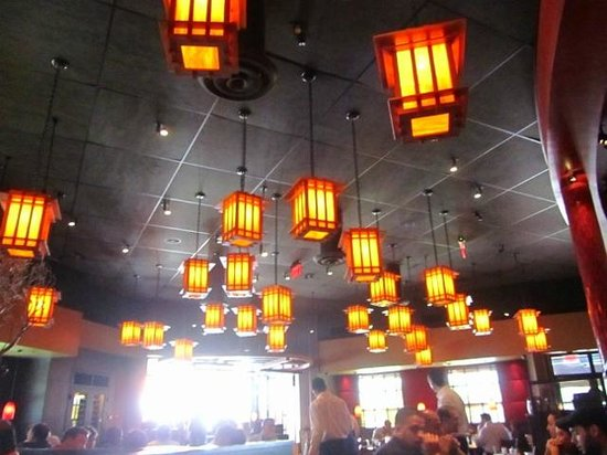 P.F. Chang's: yellow in the dark