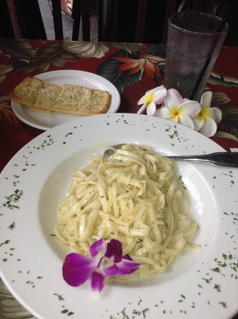 Beach Hippie Grill: The over priced alfredo