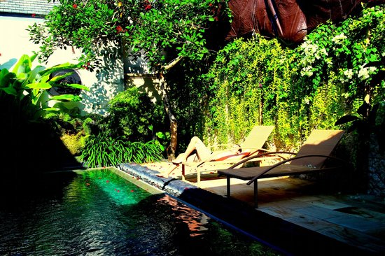 The Wangsa Private Estate: Private Pool (View from Dining Area)