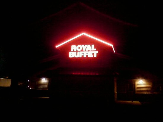 Royal buffet was formerly the old country buffet