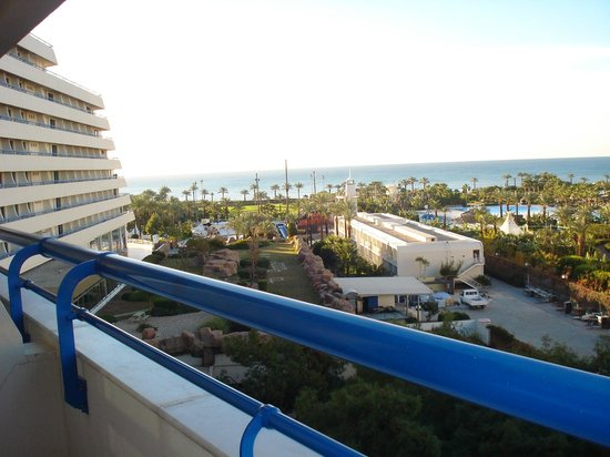 فندق تيتانيك ديلوكس بيتش آند سبا: my room view to the sea 