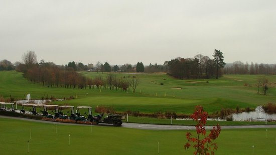 Ufford Park Woodbridge Hotel, Golf & Spa: View from our room