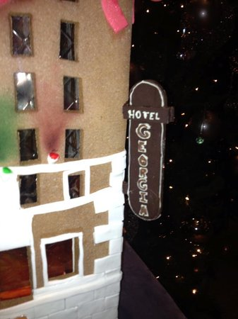 Rosewood Hotel Georgia: Ginger Bread Hotel - Christmas