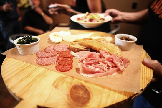 Saucy: Antipasti Platter