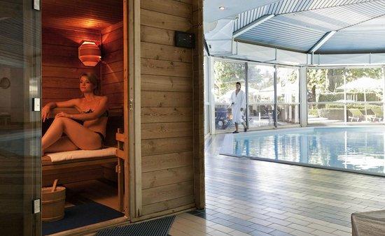 Mercure Aix Les Bains Domaine de Marlioz: sauna
