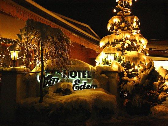Hotel Villa Eden in inverno