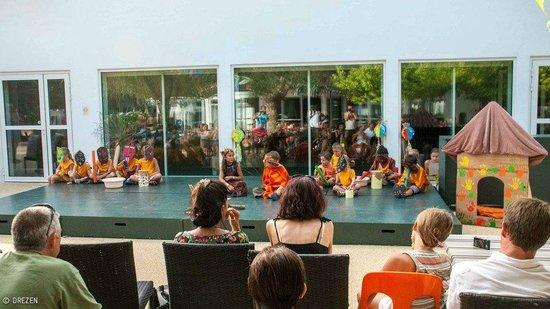 Cap Océan : spectacle des enfants
