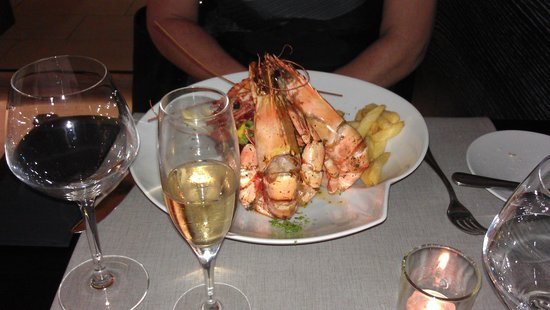 Keerbergen, Bélgica: Lobster style gambas !