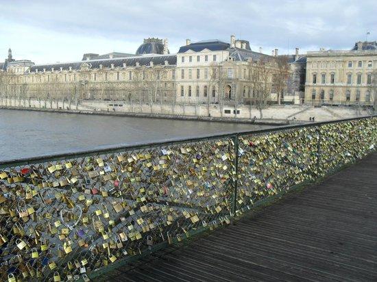 Padlocks With Lovers Names Picture Of River Seine Paris Tripadvisor