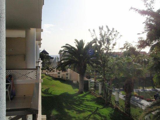 Aparthotel Parque de la Paz: En lille smule havkig