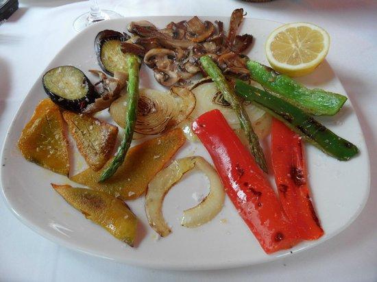 Pepe El Torrao San Juan: grilled vegetables
