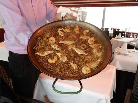 Pepe El Torrao San Juan: Rice with seefood and lubina