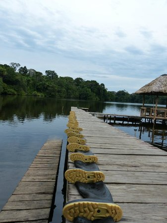 La Selva Amazon Ecolodge: The harbour