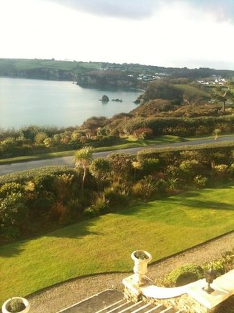 Porth Avallen Hotel : view from room 6