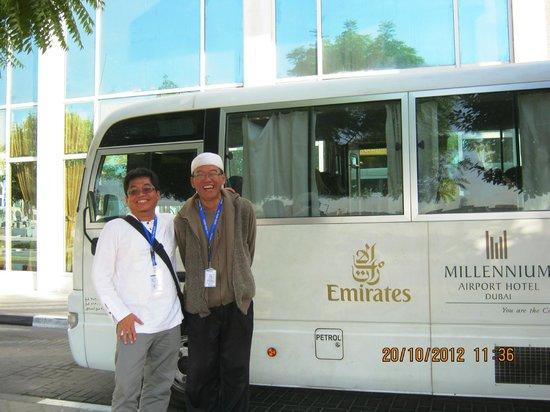 Millennium Airport Hotel Dubai: front hotel