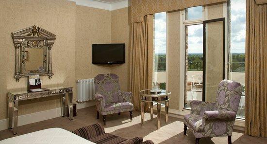 The Petersham Hotel: Penthouse bedroom