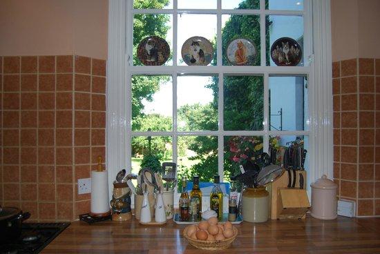 Heath House: Kitchen window