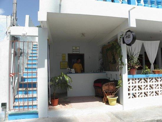 Hotel Maria del Pilar: reception