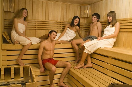 Hotel Grand Palace: Sauna