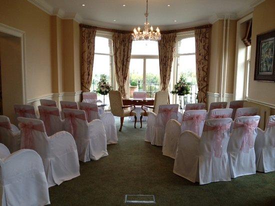 The Petersham Hotel Wedding Ceremony Room