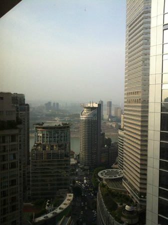 Glenview ITC Plaza Chongqing: Lots of tall buildings and river visible at a distance