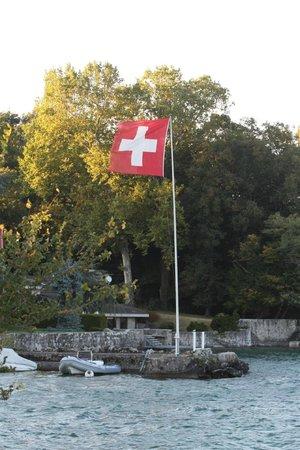La Reserve Geneve Hotel & Spa: At the private harbour