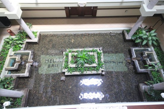 Melia Bali Indonesia : From the 3rd Floor looking down