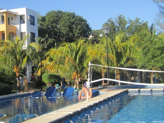 Real Playa del Carmen: two swimming pools