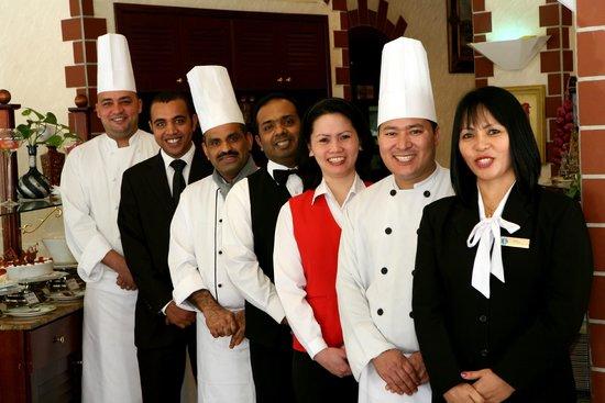 Khalidia Hotel Apartments: Food & Beverage Team