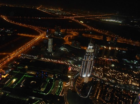 Dubai Marine Beach Resort and Spa: night city view
