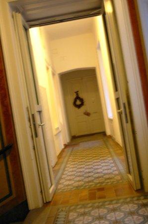 Pension Residenz: hallway
