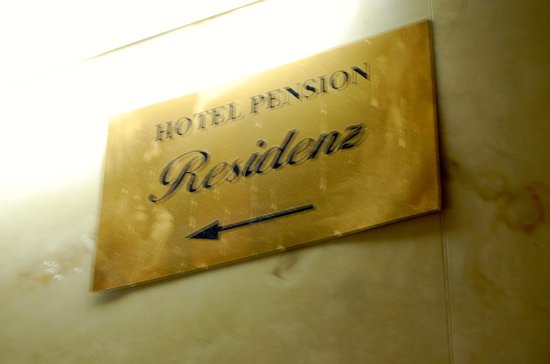 Pension Residenz: hotel