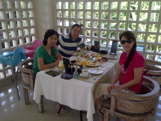 KajaNe Mua Private Villa & Mansion: Breakfast