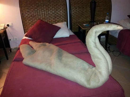 Jaz Mirabel Club: Towel art!