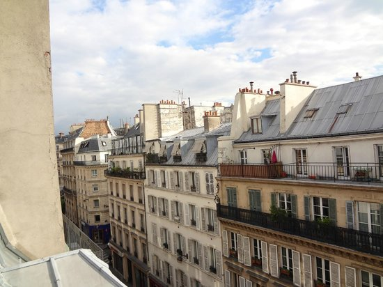 Hotel France Albion: vista da janela