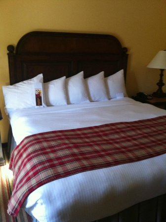 The Lodge and Spa at Callaway Gardens, Autograph Collection: I dream of this bed. It was great.