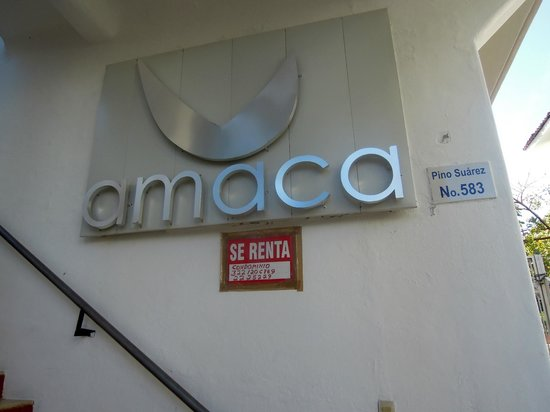 Amaca Hotel: It was closed!