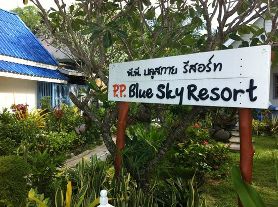 P.P. Blue Sky Resort: Hotel entrance