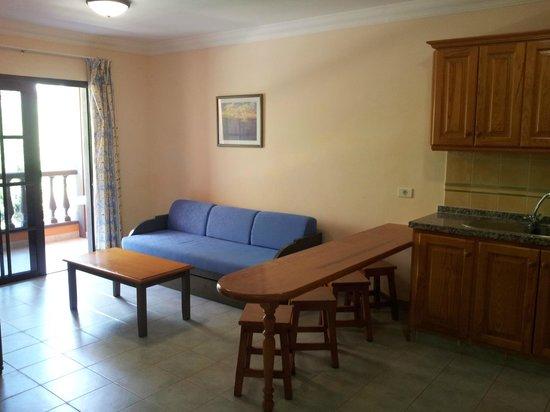 Residencial El Conde : Living area