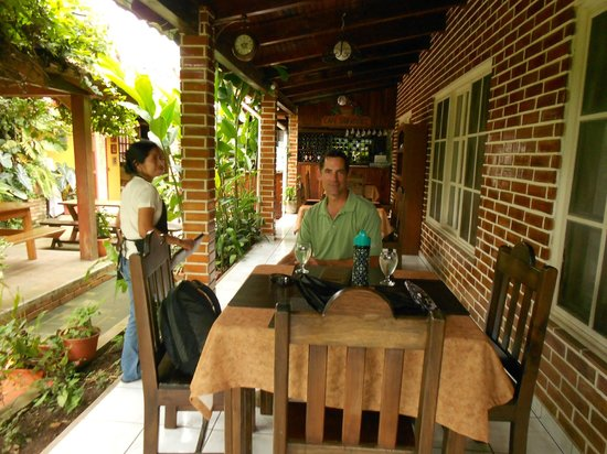Inside Cafe San Rafael