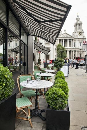 Cote Brasserie - St Pauls: StPaus View