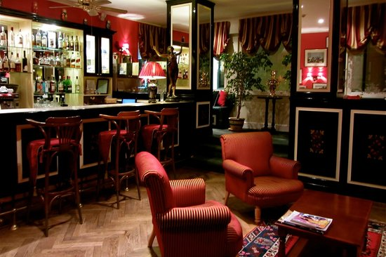 Гостиница Санкт-Петербург: The bar at Hotel St Petersbourg, Tallinn