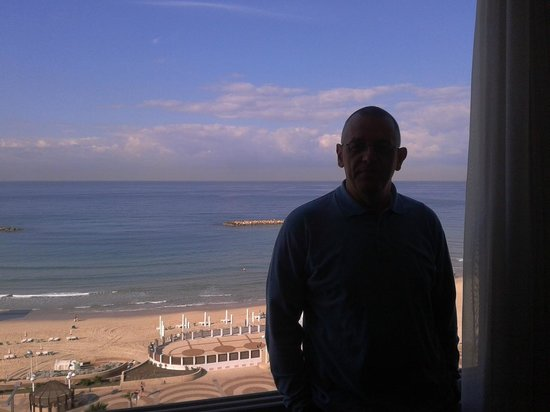 Hotel Prima Tel-Aviv: View from the room