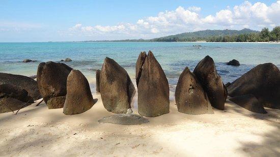 The Sarojin: Teilweise mit Felsen unterwegs (nicht beim Hotel!)