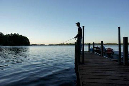 White Eagle Resort on Lake Vermilion: Evening Dock Fishing