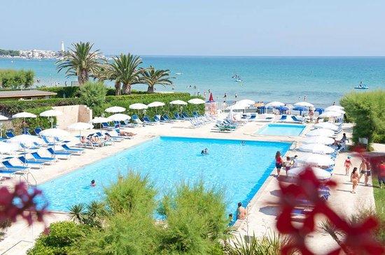Selva, Italië: spiaggia privata con piscina a 15 minuti